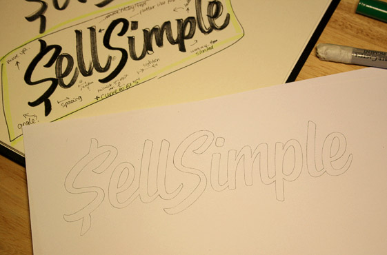 Step by Step: Creation of a Typographical Logo