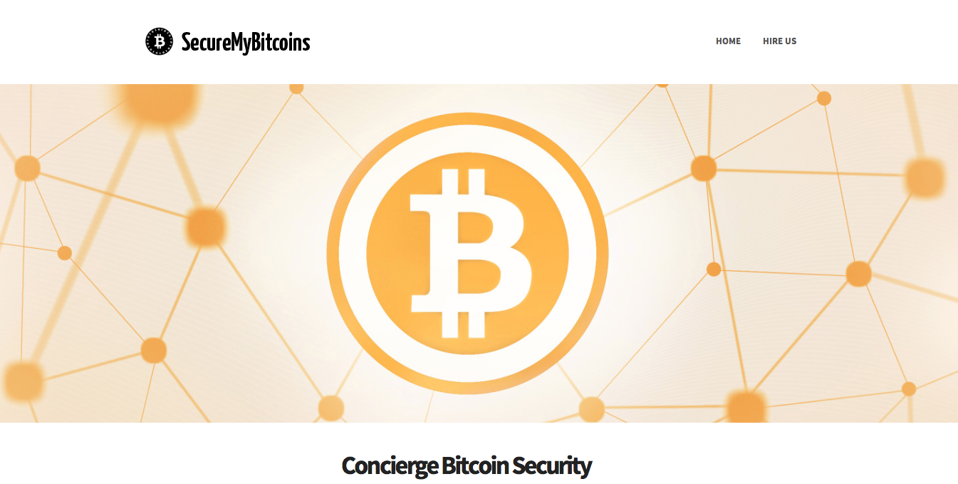 SecureMyBitcoins.com – GeekSquad for Bitcoin Security