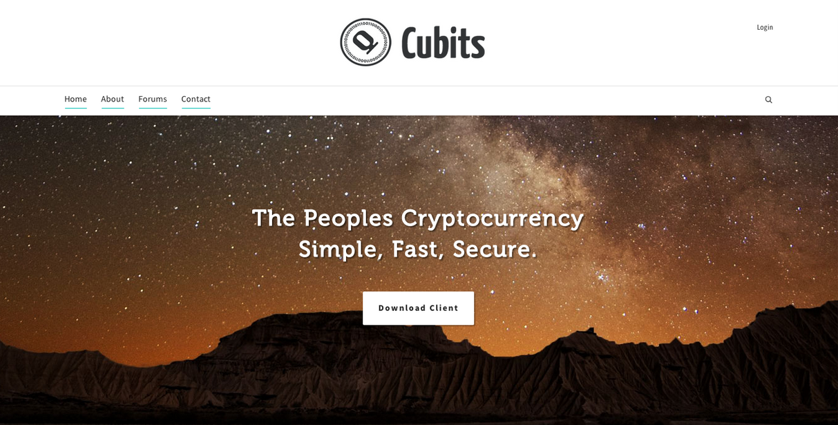 Cubits – The Peoples Cryptocurrency